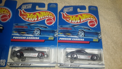 hot wheels porsche carrera x 3