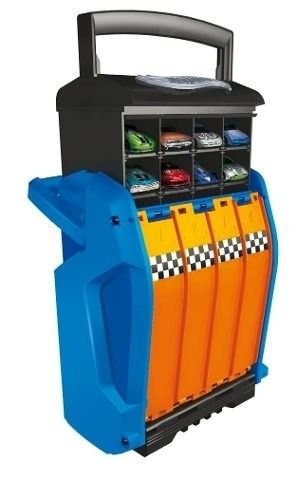 hot wheels racing case 4 track bunny toys