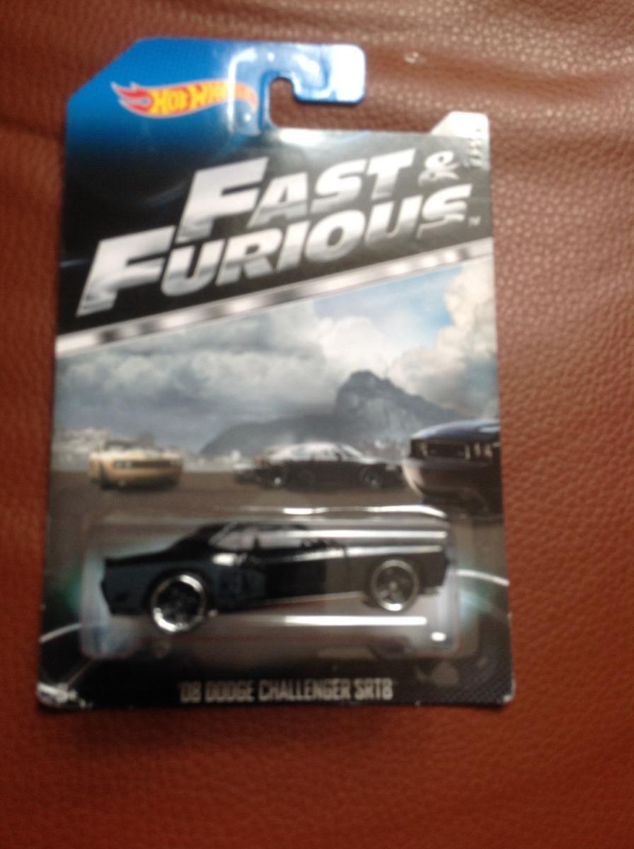 Hot Wheels R 225 Pido Y Furioso 08 Dodge Challenger Srt8 6 8