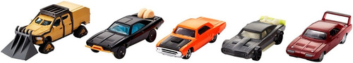 hot wheels - rapidos y furiosos - 5x pack - 5 autos diecast
