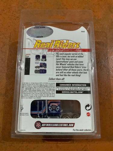 hot wheels - real riders - thunder roller (edición limitada)