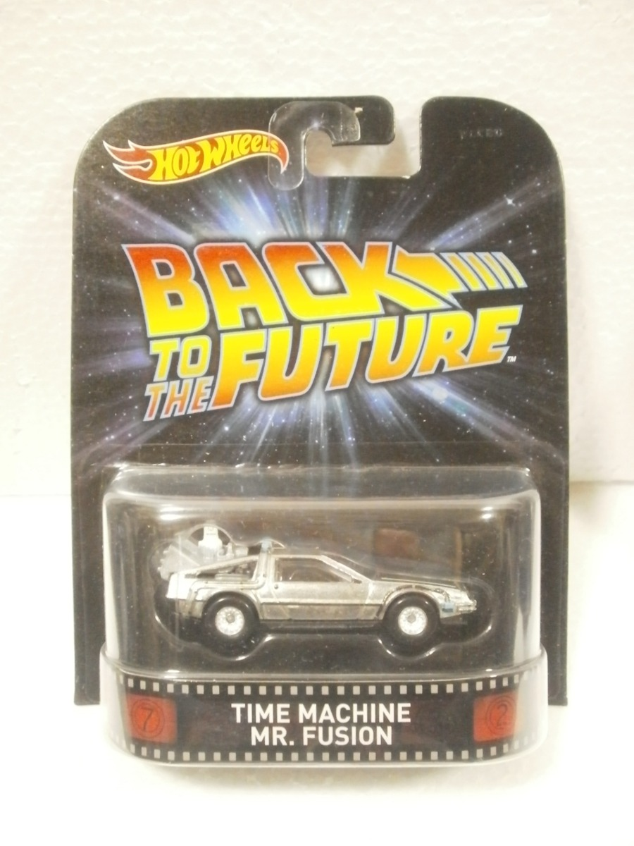 wheels back to the future time machine