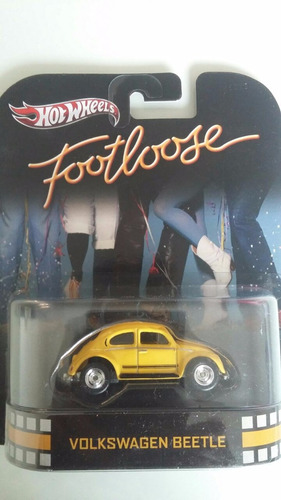 hot wheels retro - footloose volkswagen beetle vw