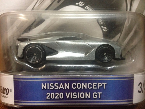 Hot Wheels Retro Gran Turismo Nissan Concept 2020 Vision ...