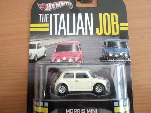 hot wheels retro morris mini