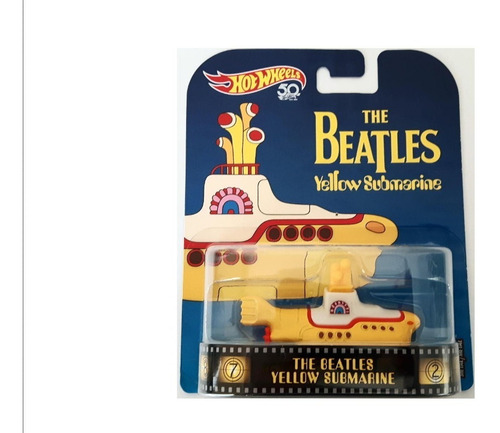 hot wheels retro the beatles yellow submarine original