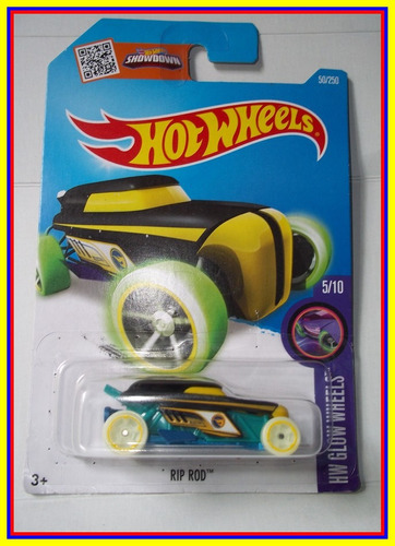 hot wheels rip rod treasure hunt 2016 - llantas brillantes