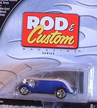 hot wheels rod & custom 1934 ford roadster (lacrado)