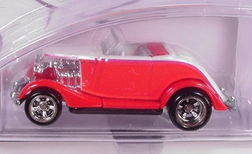 hot wheels rod&custom 1934 ford (lacrado)
