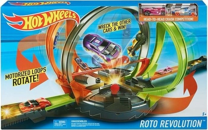 Hot Wheels Roto Revolution Pista De Carros Juguete Fdf26 239 990