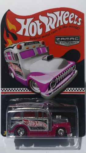 hot wheels school busted zamac