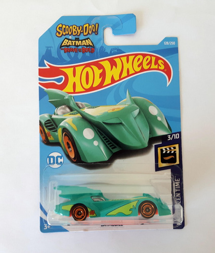 hot wheels scooby doo batman the brave and the bold