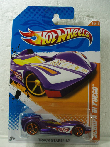 hot wheels scoopa di fuego morado 1:64 79/247 2012