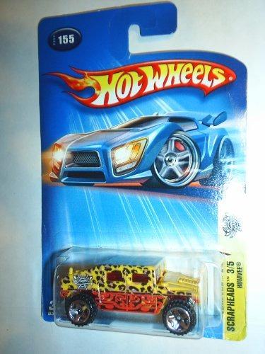 hot wheels: scrapheads 3/5, humvee (con los pun envío gratis