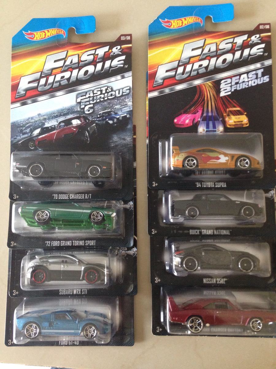 hot wheels serie rapido y furioso en mercado libre. Black Bedroom Furniture Sets. Home Design Ideas