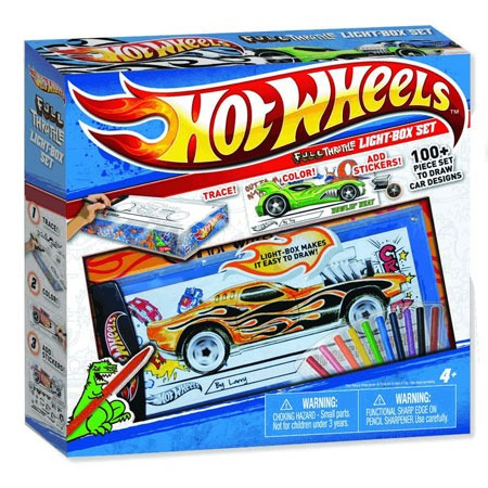 hot wheels - set diseño de coches full throttle - toy store