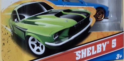 hot wheels shelby 5 pack 100% original escala 1/64 (16)