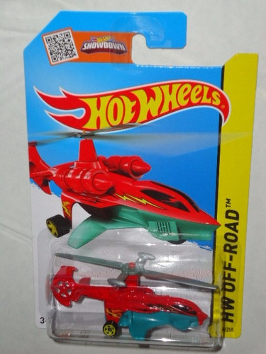 hot wheels sky knife helicoptero