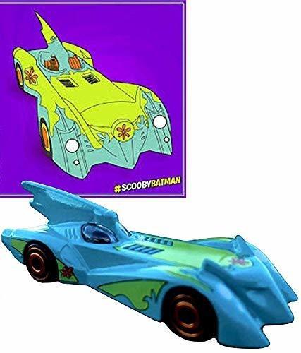 hot wheels soft scooby doo pop car collection bat mobile bra