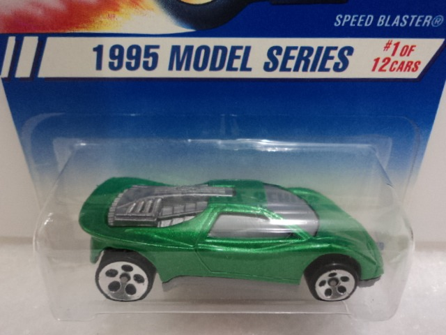 Hot Wheels - Speed Blaster - 1995 - Rodas 5dot - Lacrado