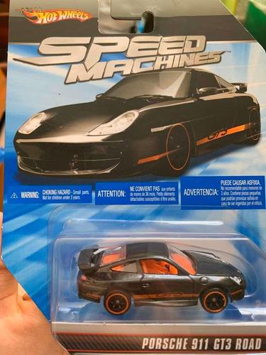 hot wheels speed machines porsche 911 gt3 road