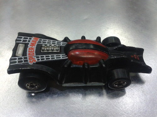 hot wheels - spider man de 1984 hong kong bs