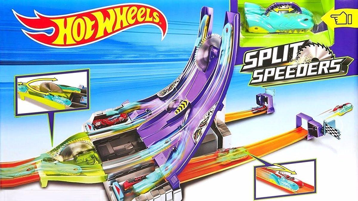 Hot Wheels Split Speeders Raid Juego Pistas Carro Dhy27 149 990