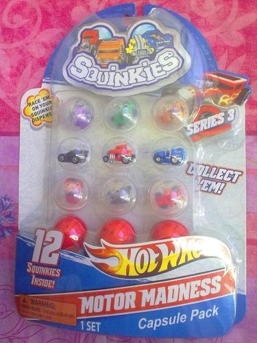 hot wheels squinkies figuras miniatura serie 3