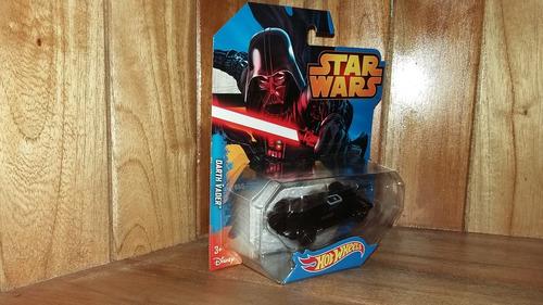 hot wheels star wars darth vader guerra de las galaxias 1/64