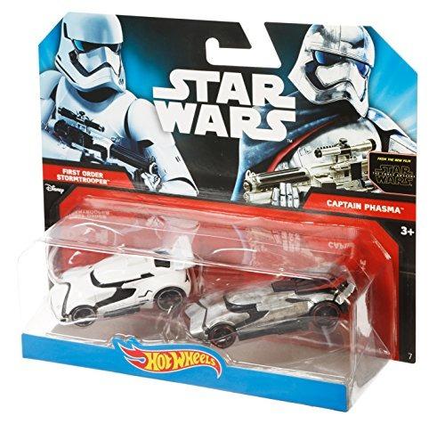 hot wheels star wars la fuerza despierta caracter car 2 pack