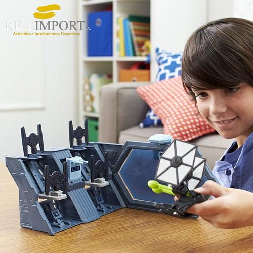 hot wheels star wars nave tie die-cast incluye mini nave tie