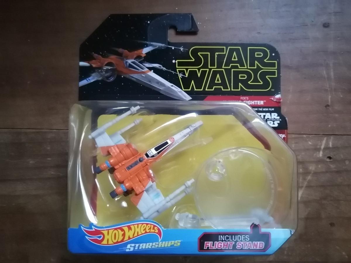 Hot Wheels Star Wars Poe S X Wing Fighter Rise Of Skywalker 1 200 00 En Mercado Libre