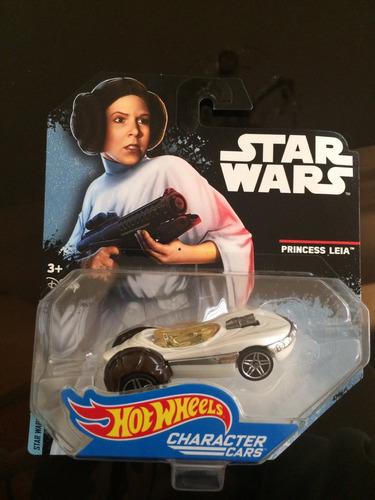 hot wheels star wars princesa leía nuevo coleccionable