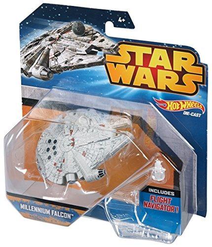 hot wheels star wars starship millenium falcon vehiculo