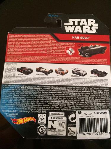 hot wheels star wars the force awakens han solo