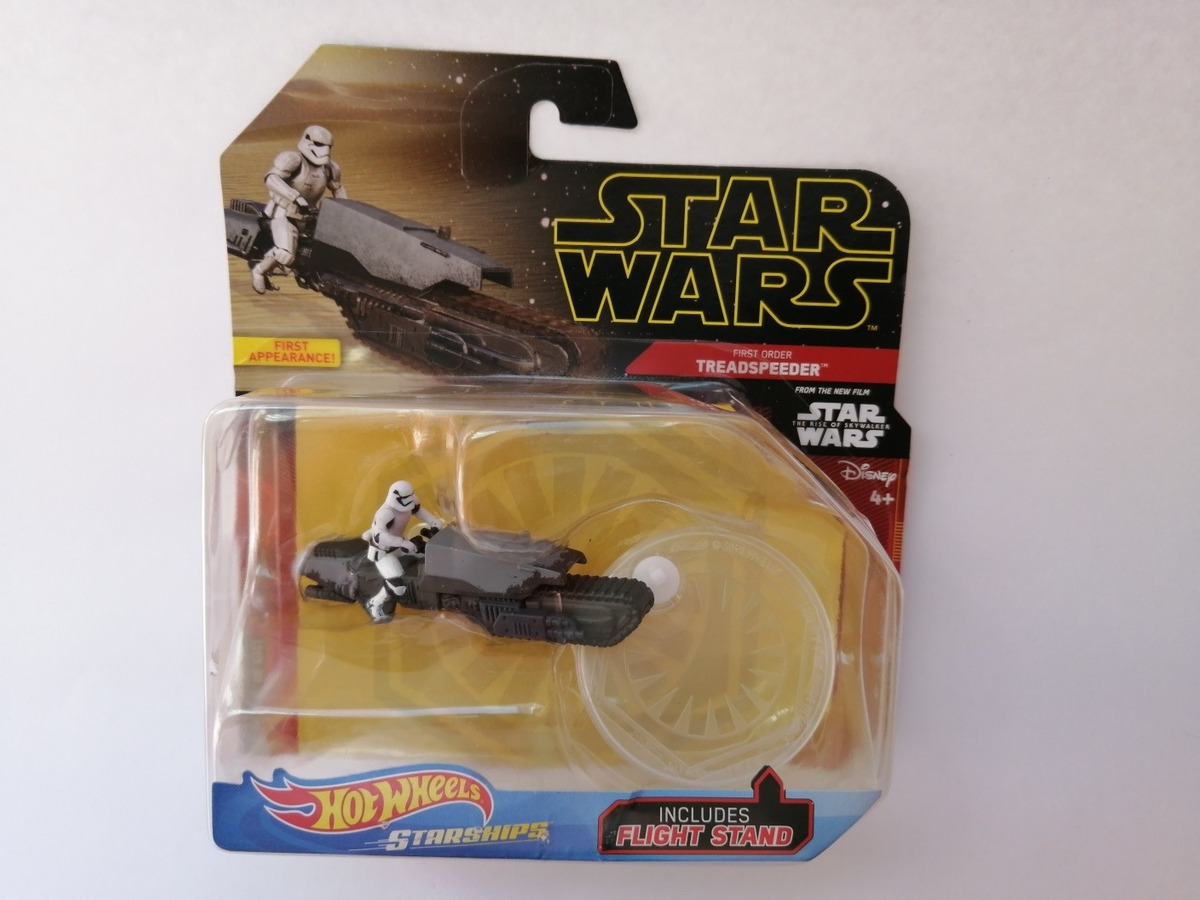 Hot Wheels Star Wars Treadspeeder Rise Of Skywalker 1 200 00 En Mercado Libre
