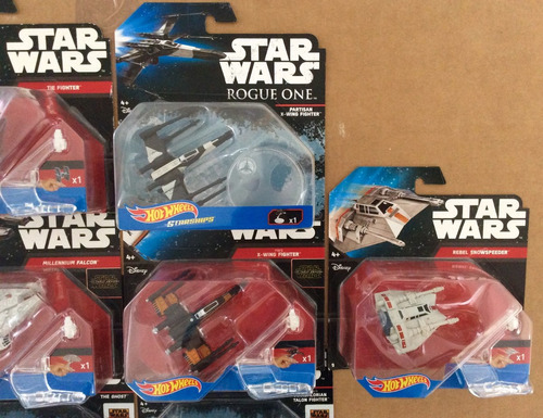 hot wheels star wars x-wing halcón milenario tie partisan