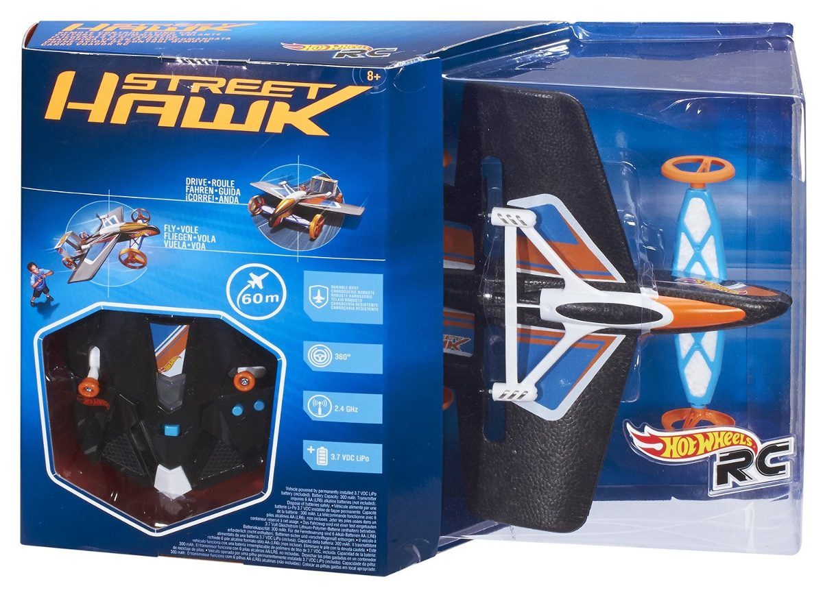 Hot wheels street hawk carro y avion a control remoto - Avion hot wheels ...