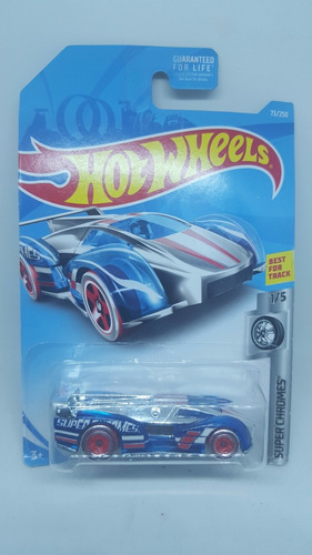 hot wheels super chromes electrack carrito a escala