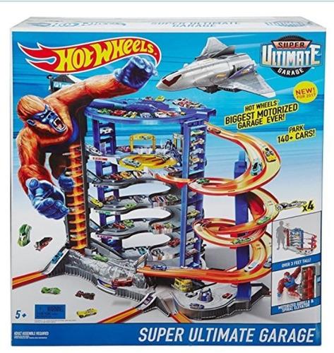hot wheels super ultimate garage nuevo para 140 autos!!
