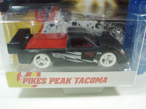 hot wheels team pikes peak tacoma negro 1:64
