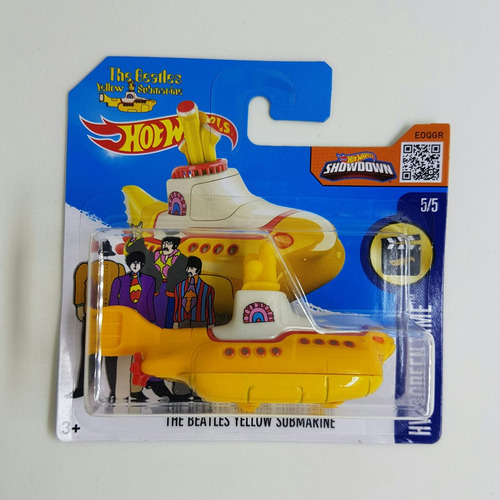 hot wheels - the beatles yellow submarine - 2016
