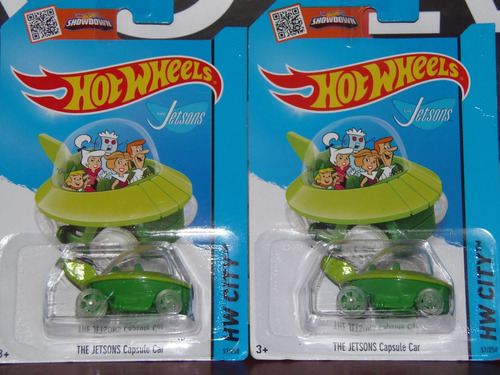 hot wheels the jetsons capsule car los supersonicos