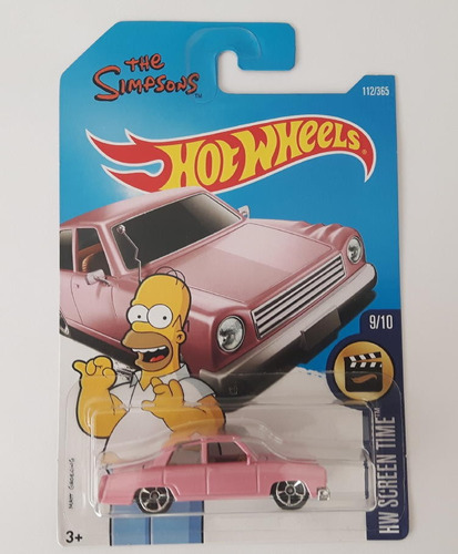 hot wheels the simpsons coleccion homero hw 2017
