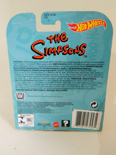 hot wheels the simpsons collectors edition - homer