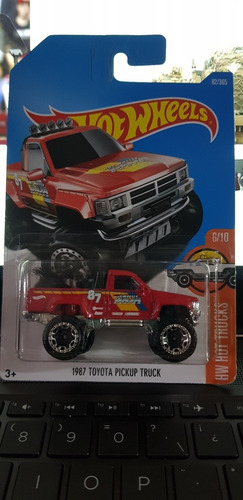 hot wheels toyota pickup 1987
