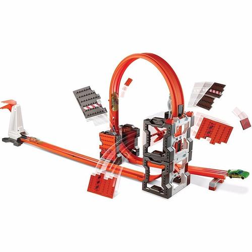 hot wheels track builder kit construção radical mattel dww96