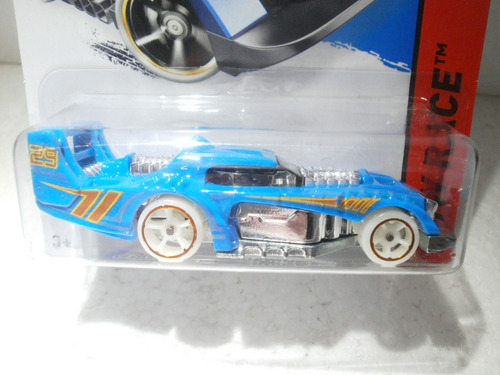hot wheels two timer azul 190/250 2014
