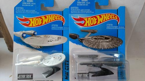 hot wheels uss enterprise ncc 1701 pack 2