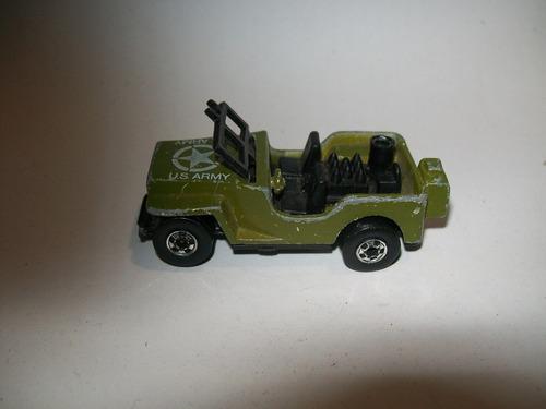 hot wheels vintage 1970 jeep militar